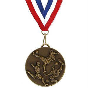 Gold Target Cricket Player Medal (size: 50mm - AM980R.12 and 60mm - AM981R.12)
