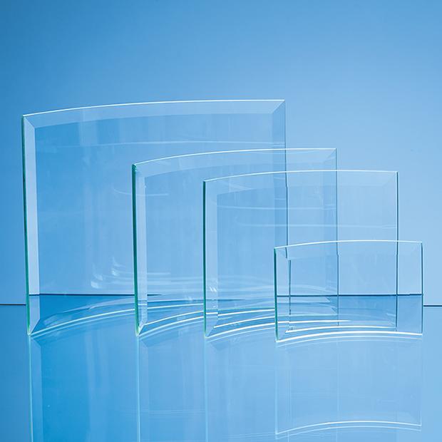 Jade Glass Bevelled Crescent - PG14