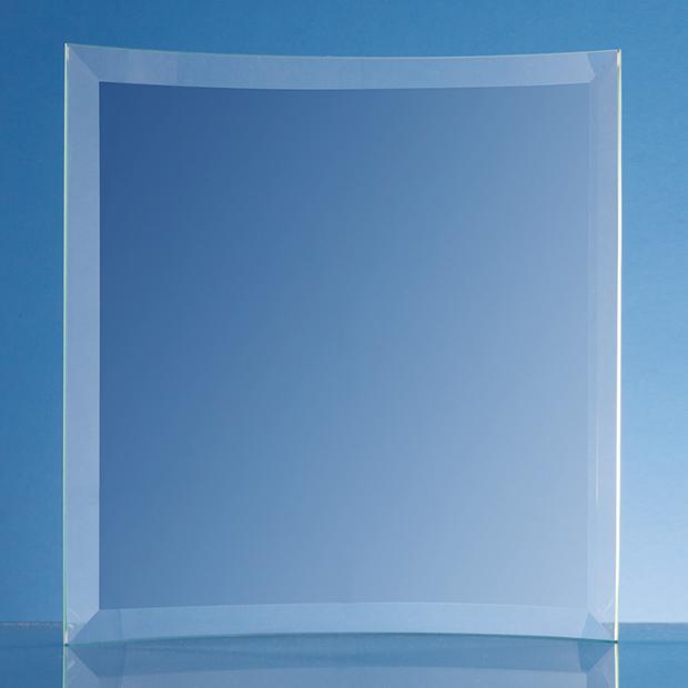 Jade Glass Bevelled Crescent - PG18