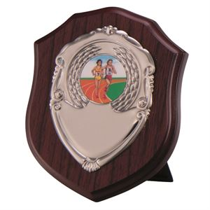 Vanquish Mahogany Shield - PS4565