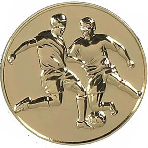 Gold Supreme Football Medal (size: 60mm) - AM074G