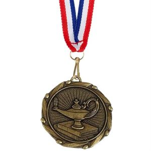 Gold Combo Knowledge Medal (size: 45mm) - AM909G