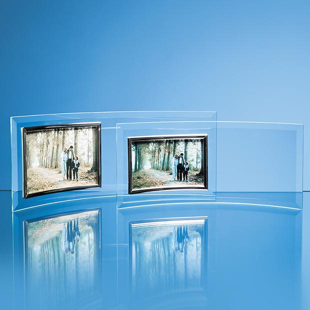 Bevelled Glass Crescent Frame for Landscape Photo - PG2 & PG4
