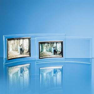 Bevelled Glass Crescent Frame for Landscape Photo - PG2 & PG4