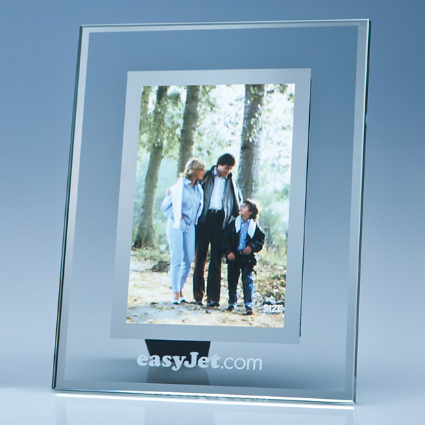 Jade Glass Frame with Mirror Inlay for Portrait Photo - SX4
