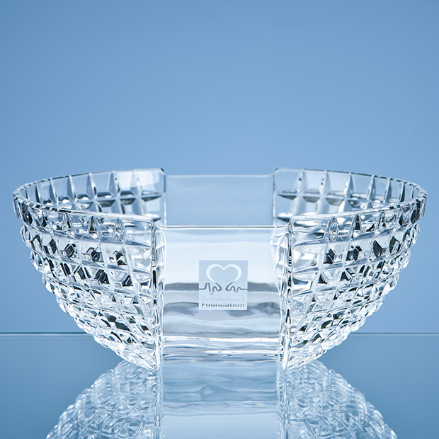 Mario Cioni Lead Crystal Luxe Bowl - MC43