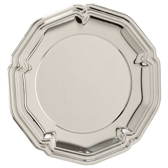 The English Rose Silver Salver - SL15185