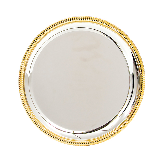 Montrose Silver and Gold Salver - SL07