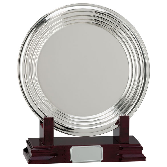 Inverurie Nickel Plated Salver - NP15156
