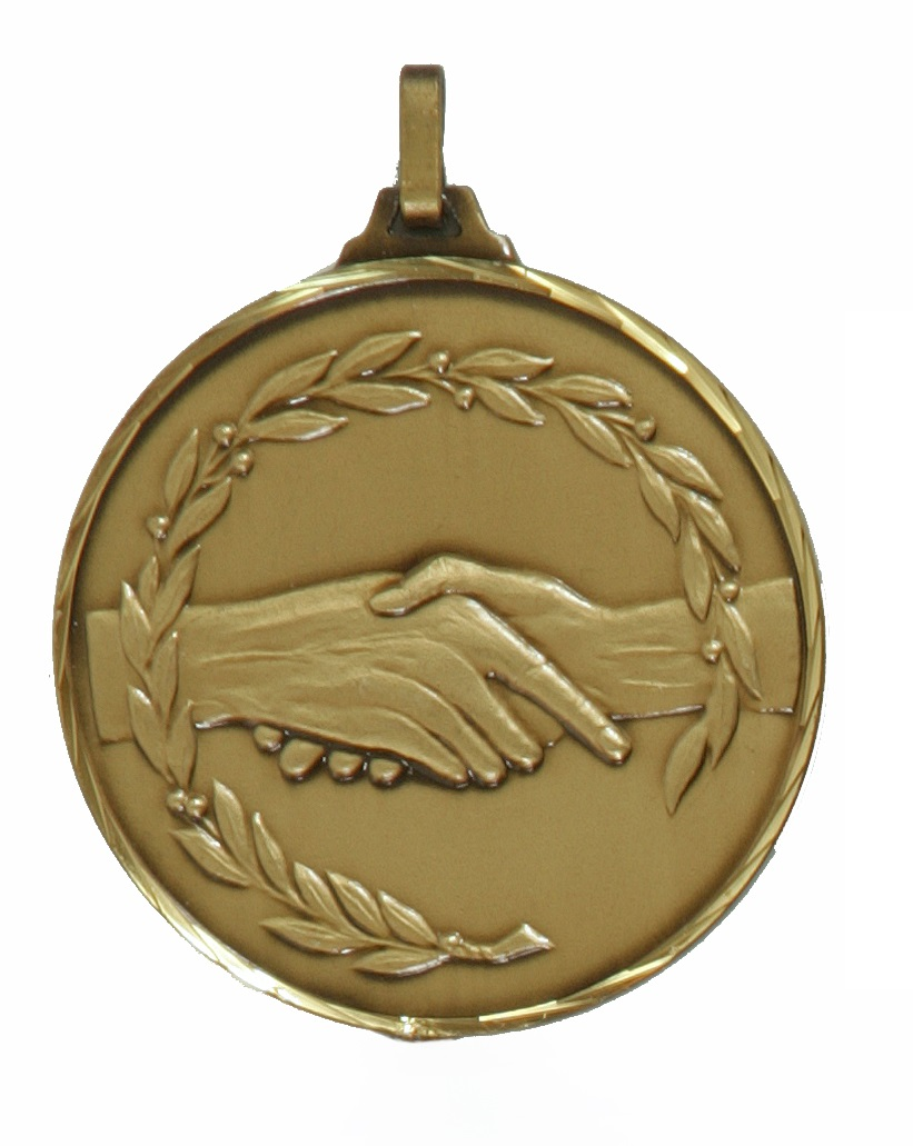Bronze Faceted Fair Play Medal (size: 52mm and 70mm) - 360F
