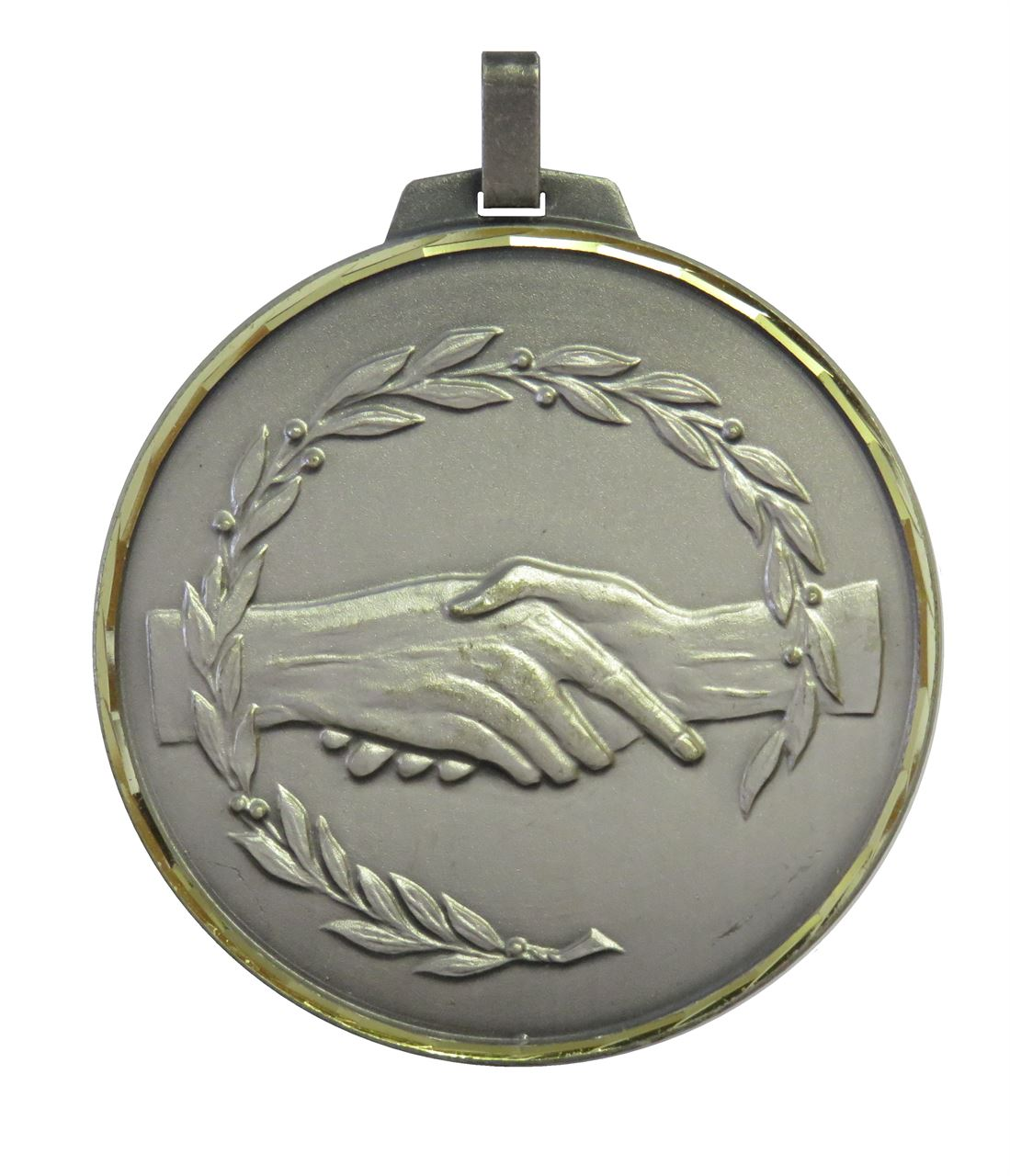 Silver Faceted Fair Play Medal (size: 52mm and 70mm) - 360F