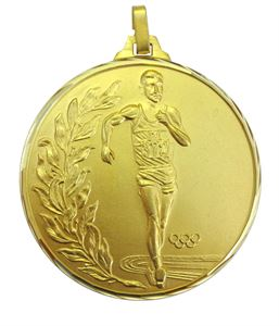 Faceted Race Walking Olympic Medal