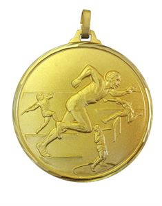 Faceted Track and Field Medal