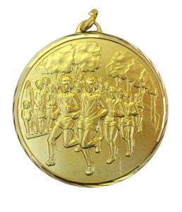 Faceted Runners Medal