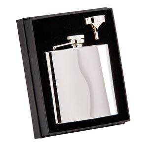 The Grand Flask Polished Steel - PP1069