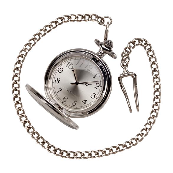 Timeless Pocket Watch Polished Steel - ST17171