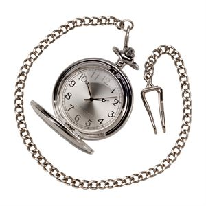 Timeless Pocket Watch Polished Steel - ST17171