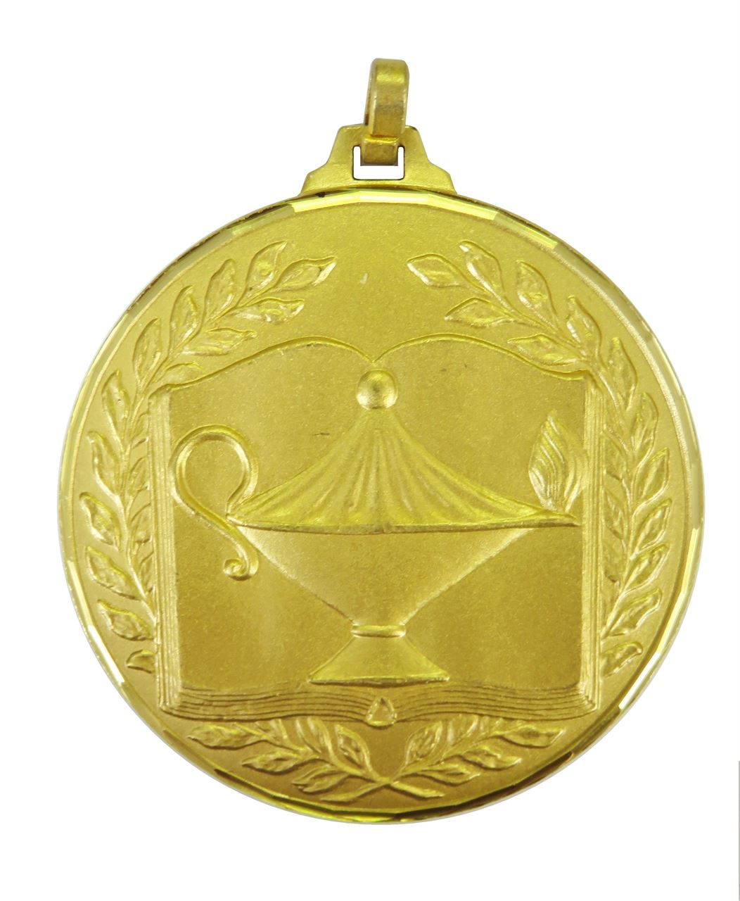 Gold Faceted Academic Medal (size: 52mm) - 231F/52G