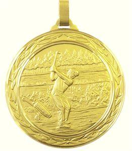 Faceted Golf Medal