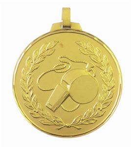 Gold Faceted Officials Medal (size: 42mm, 52mm and 70mm) - 378F