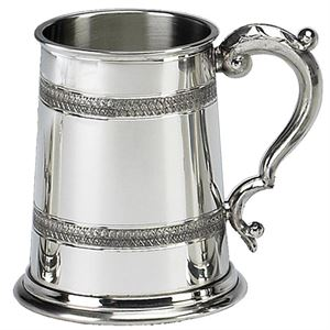 Pinder Bros Ltd Celtic Embossed Pewter Tankard - BT461