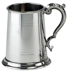 Pinder Bros Ltd Commodore Pewter Tankard  - BT438