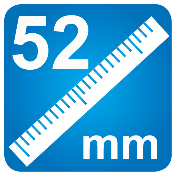 52mm Diameter