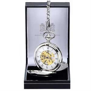 A.E. Williams Double Full Hunter Pocket Watch boxed - PW014SK
