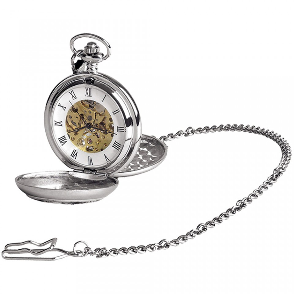 A.E. Williams Double Full Hunter Pocket Watch - PW014SK