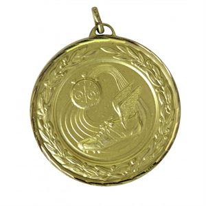 Gold Premium Classic Athletics Medal (size: 50mm) - 9555F