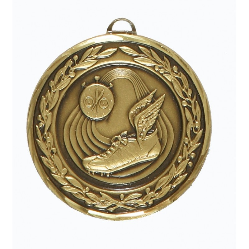 Bronze Premium Classic Athletics Medal (size: 50mm) - 9555F