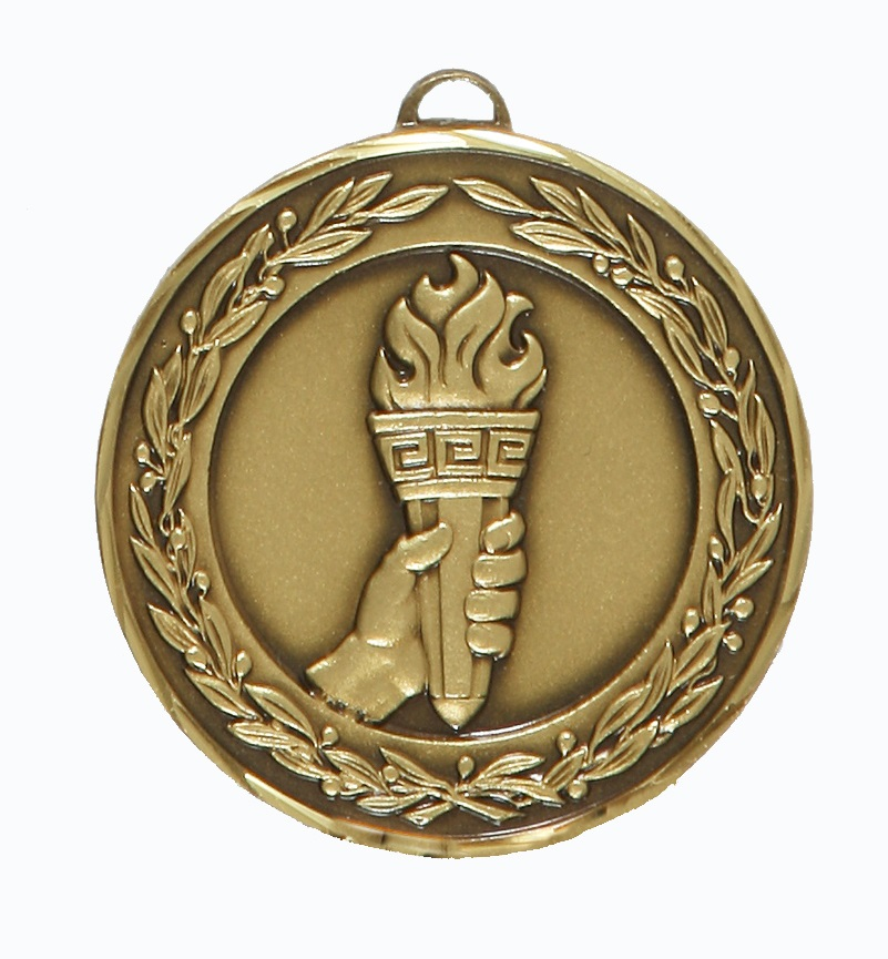 Bronze Premium Classic Victory Medal (size: 50mm) - 9665F