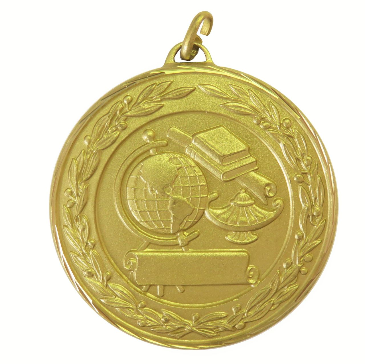 Gold Premium Classic Academic Medal (size: 50mm) - 9599F