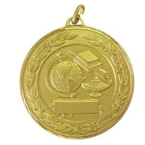 Gold Premium Classic Academic Medal (size: 50mm) - 9599F