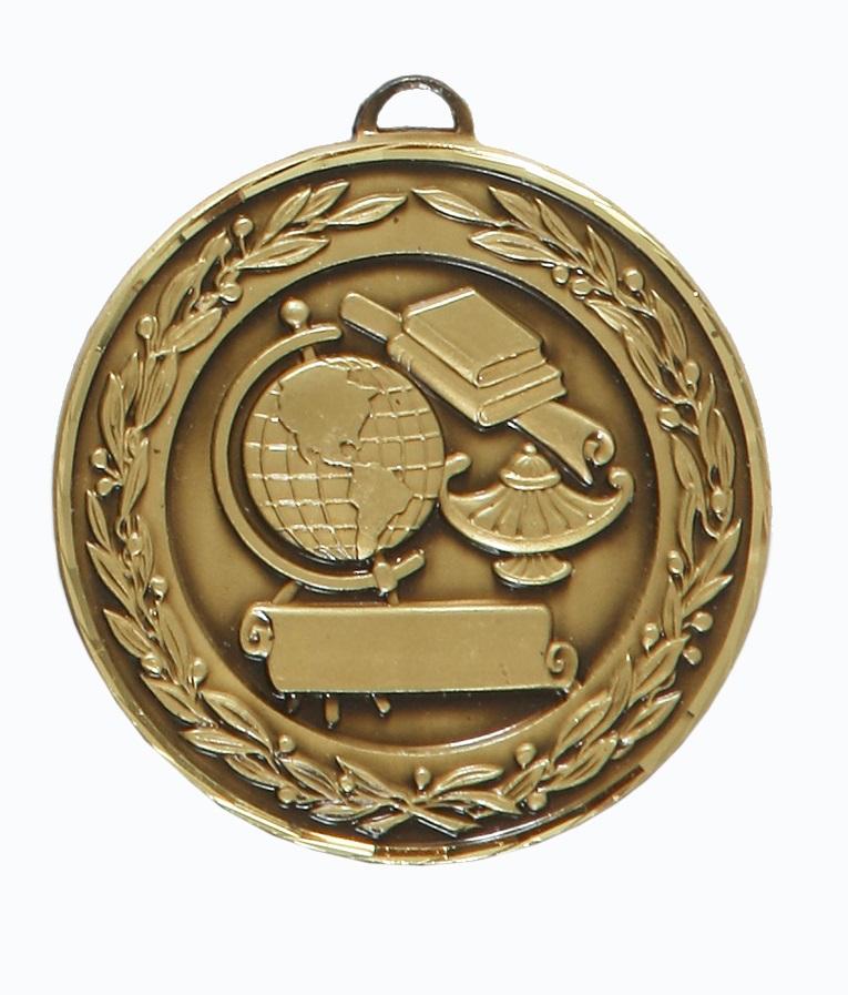 Bronze Premium Classic Academic Medal (size: 50mm) - 9599F