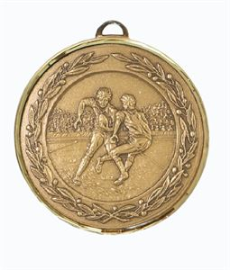 Premium Classic Rugby Medal