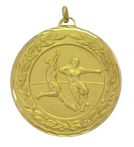 Premium Classic Ladies Football Medal