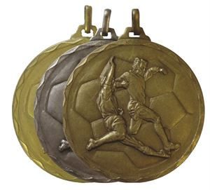 Economy Football Medal (size: 52mm) - 176E