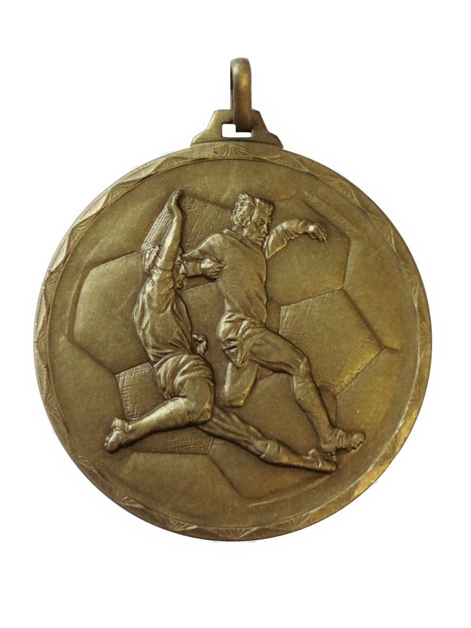 Bronze Economy Football Medal (size: 52mm) - 176E