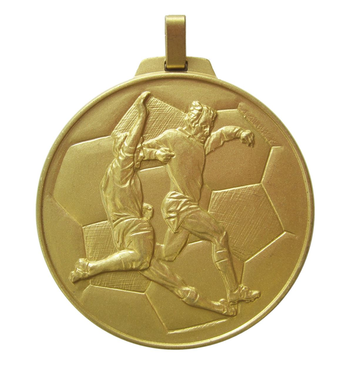 Gold Economy Football Medal (size: 70mm) - 176E