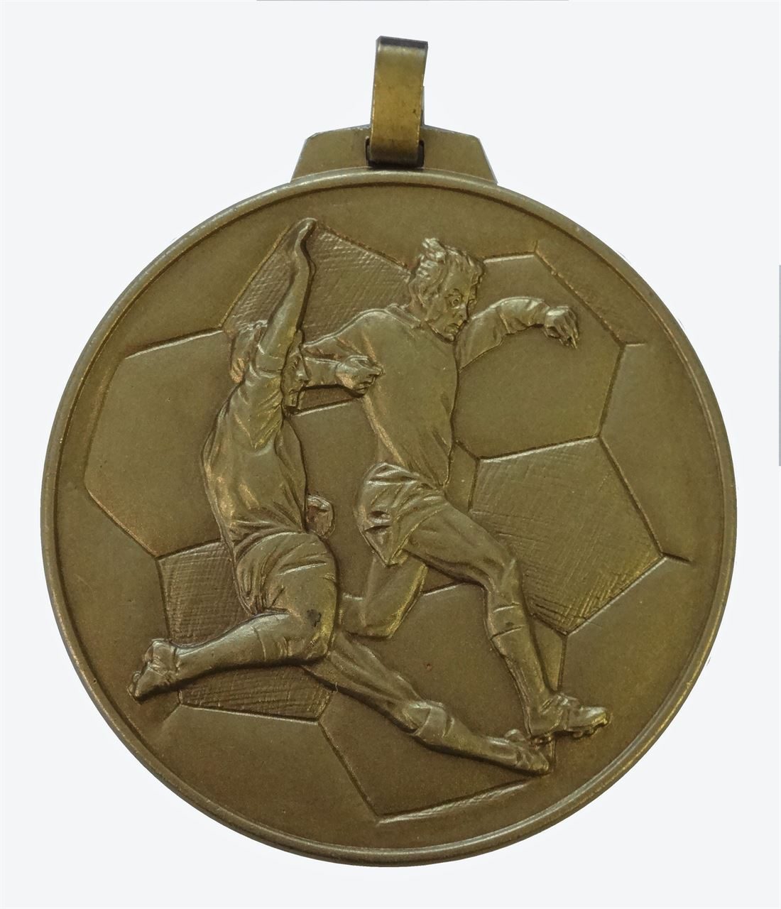 Bronze Economy Football Medal (size: 70mm) - 176E