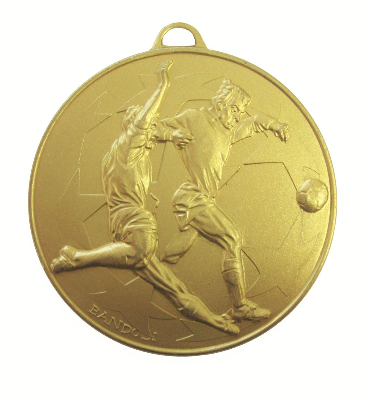Gold Economy Football Stars Medal (size: 50mm) - 437E