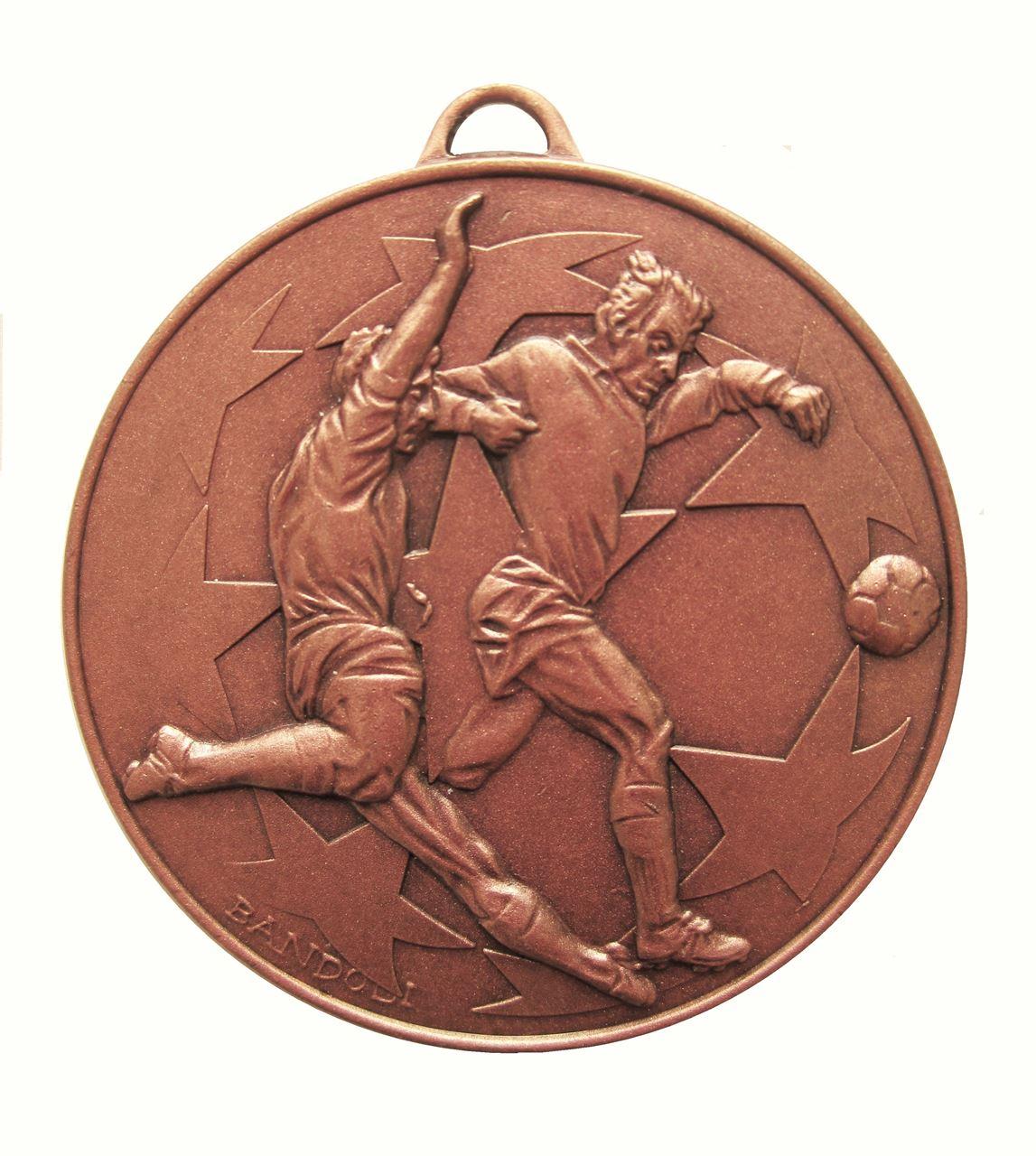 Copper Economy Football Stars Medal (size: 50mm) - 437E