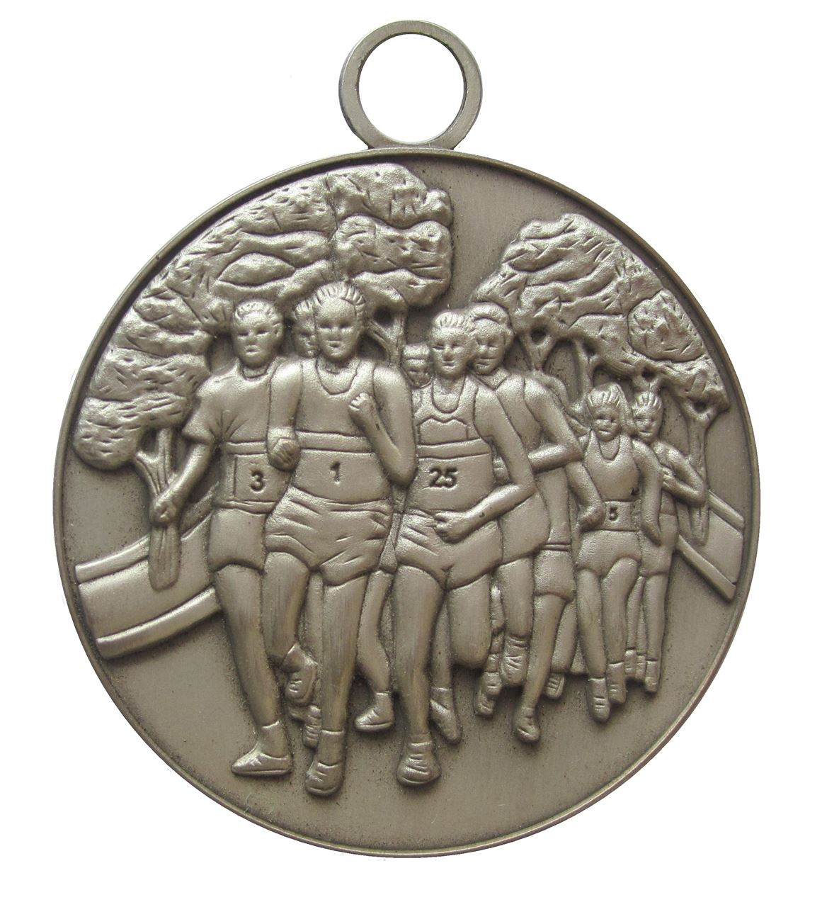 Silver  Economy Running Medal (size: 50mm) - MAR001E