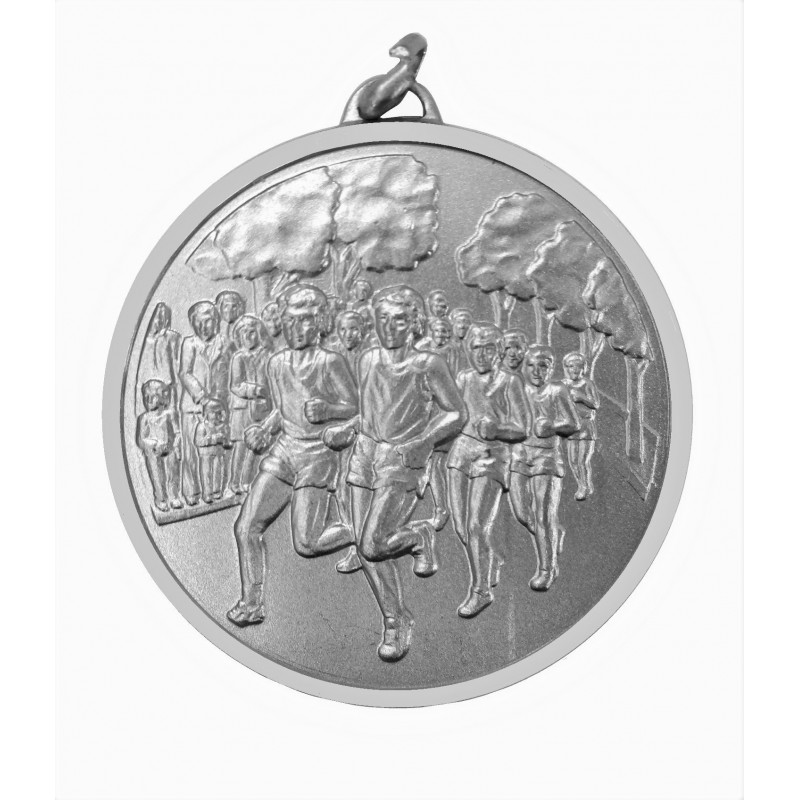 Silver Economy Runners Medal (size: 50mm) - 397E