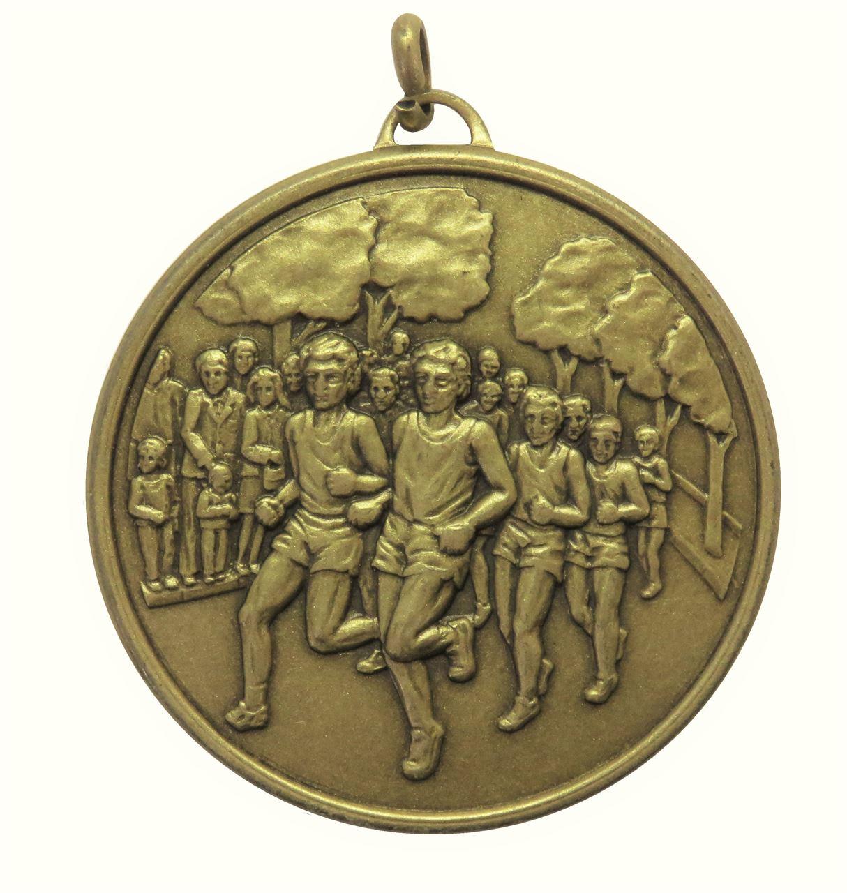 Bronze Economy Runners Medal (size: 50mm) - 397E