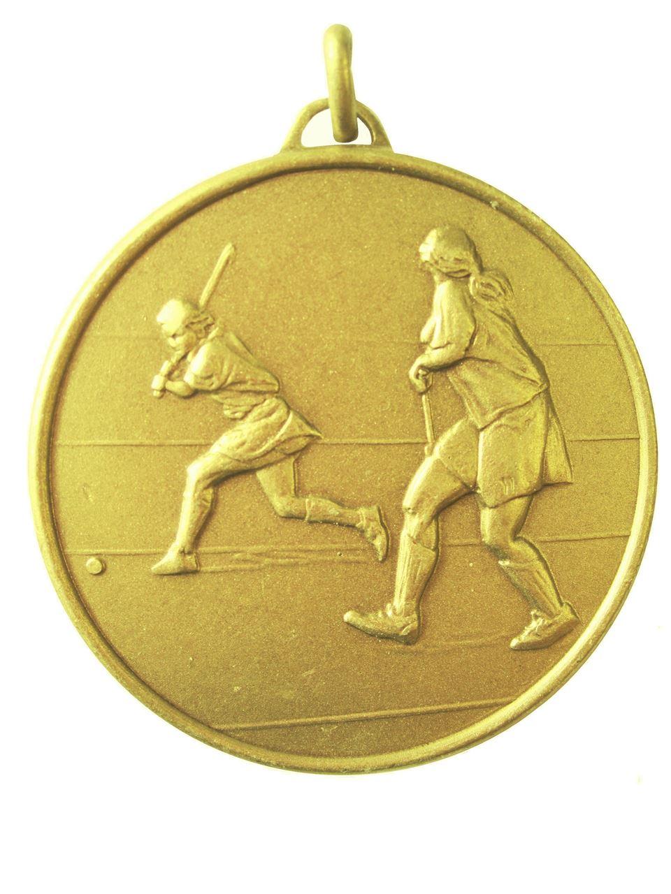 Gold Economy Hockey Medal (size: 50mm) - 405E