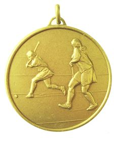 Gold Economy Hockey Medal (size: 50mm) - 405E