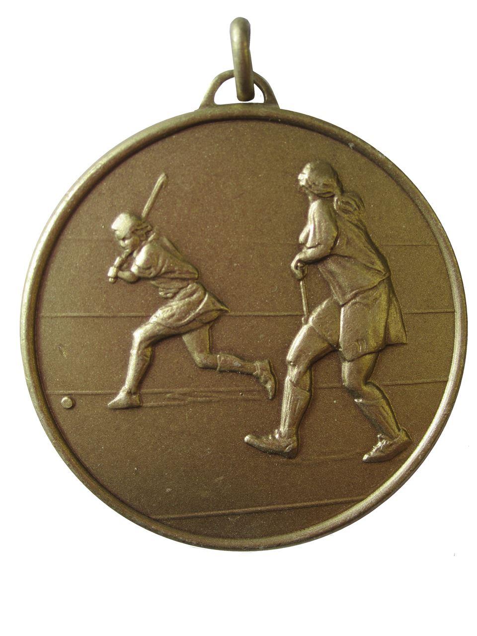 Bronze Economy Hockey Medal (size: 50mm) - 405E