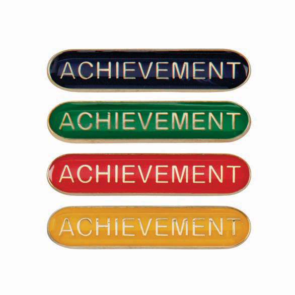 Achievement Metal School Bar Badge - SB16112
